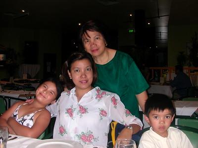Kids and mum