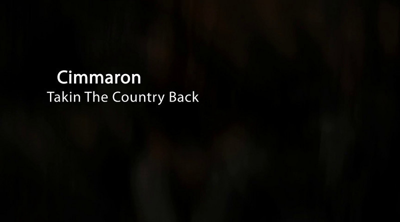 Cimmaron Recording Taking The Country Back in Nasheville, TN  Click arrow in Center of Image to play show.