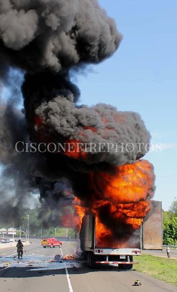 I-95 NB Exit 52 TT Fire 05/13/12