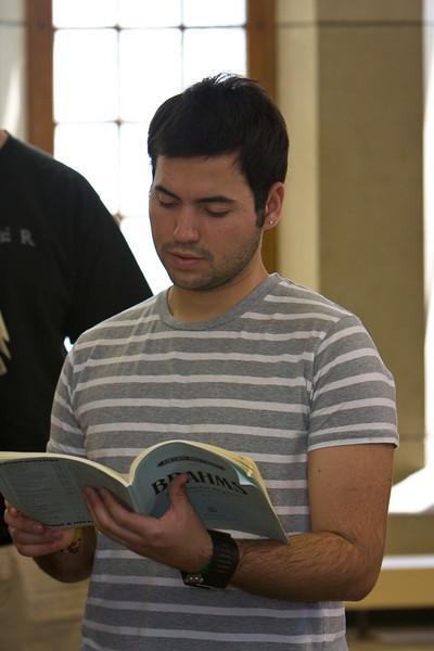 Choir Summer Rehearsal (05-13-08)