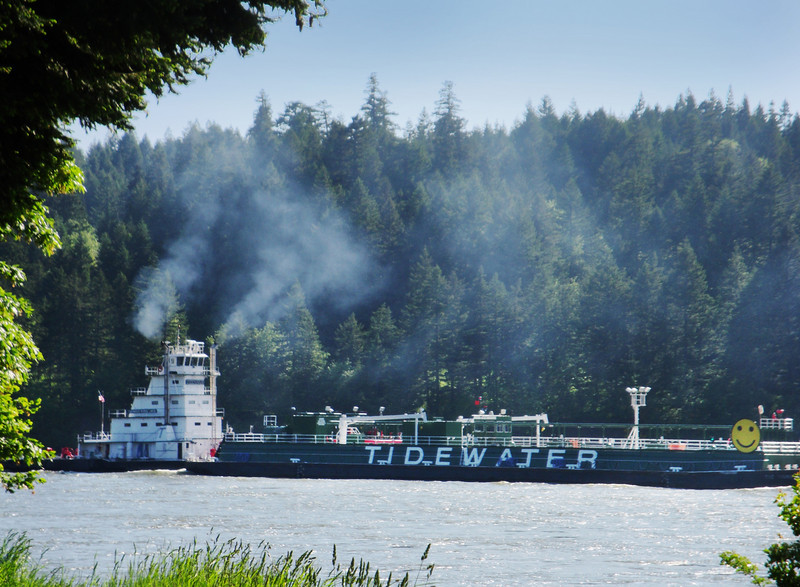 Columbia River Barge.