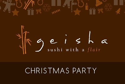 Geisha Sushi Christmas Party 12/23/15