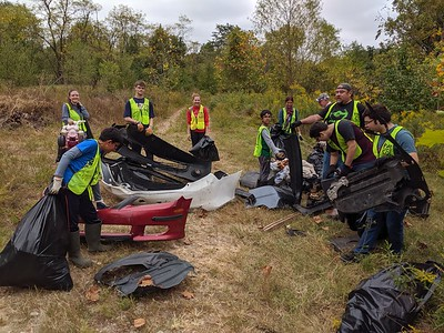 9.28.19 Cleanup at North Hammonds Ferry