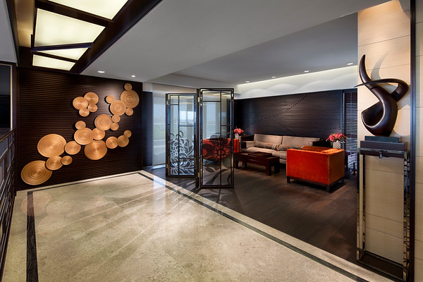 Guangzhou Residential Clubhouse Interior Architecture