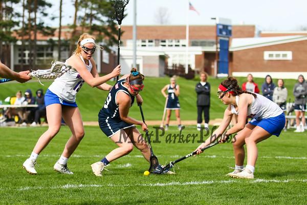 2019-4-29 WHS Girls Lacrosse vs Hollis-Brookline