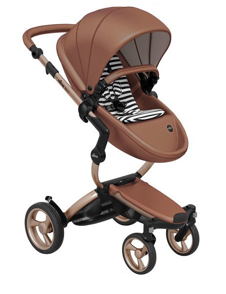 Mima_Xari_Product_Shot_Camel_Flair_Rose_Gold_Chassis_Black_And_White_Stripe_Seat_Pod.jpg