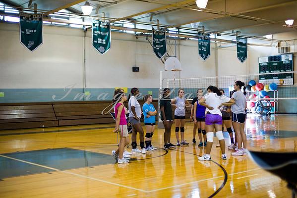 2012 JV Thurs VB Practice