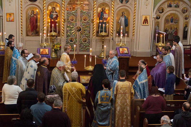 Orthodoxy Sunday - Annunciation Vespers