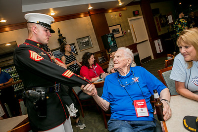 Honor Flight Houston - Dinner
