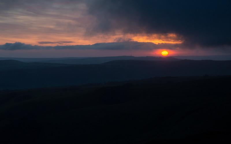 Sunrise from Mam Tor