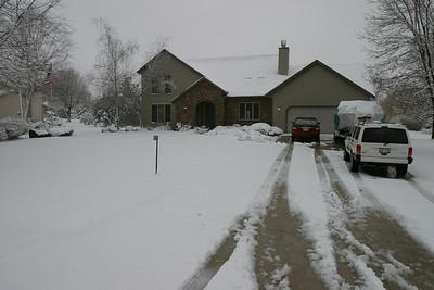 Spring Snow Play 4-11-2007