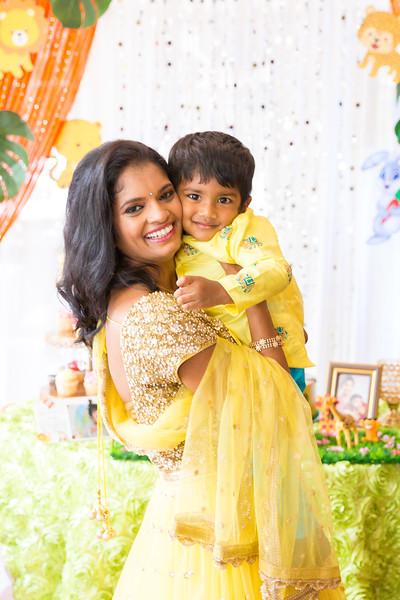 Rishaan Nookala 2nd Birthday