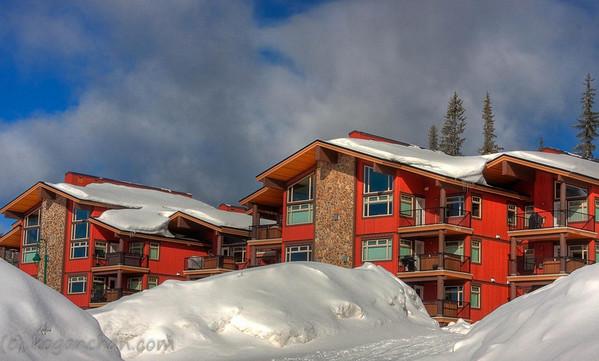 big white resort rentals - raven 102