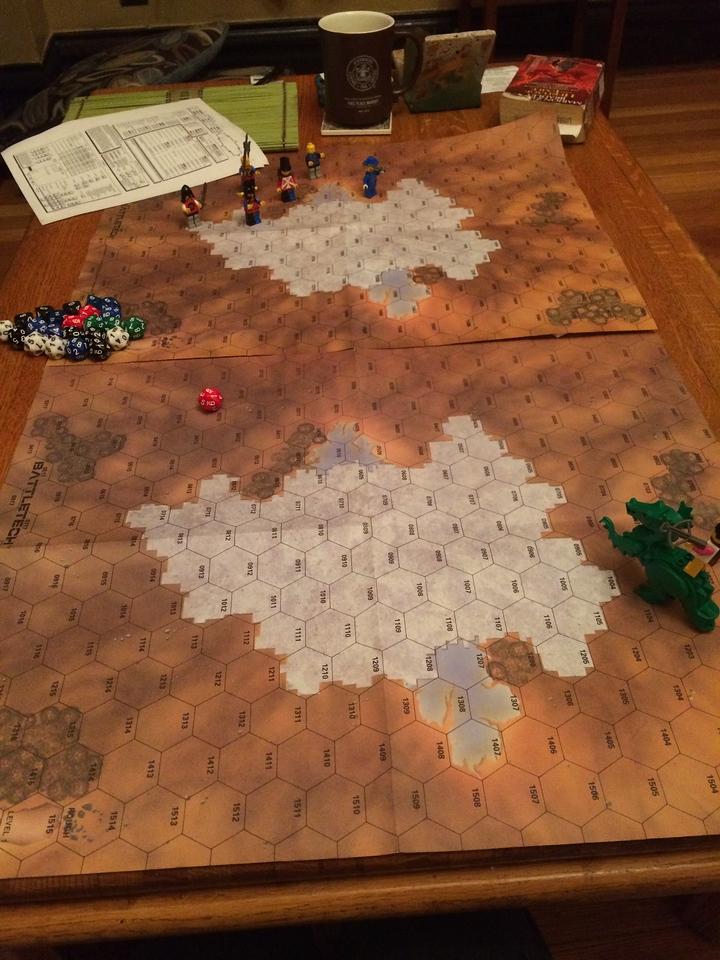 Warlords combat testing beginning