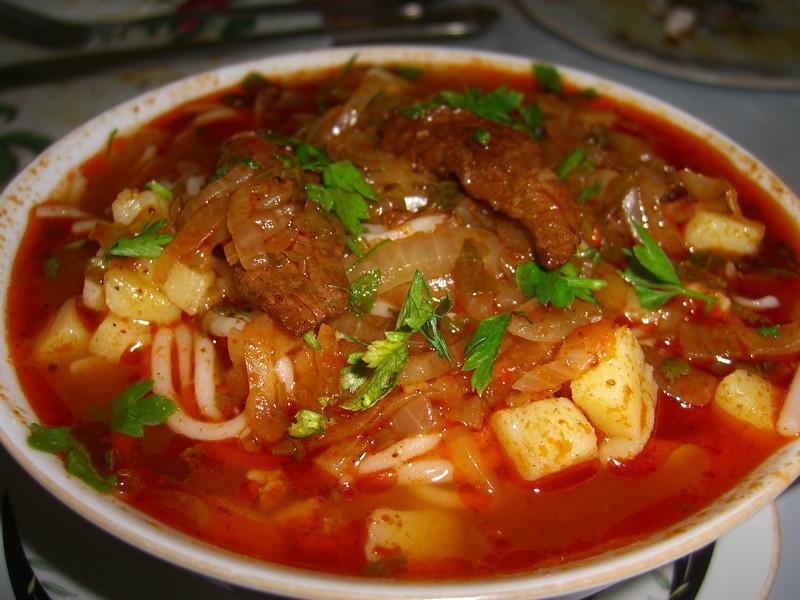 Laghman (Uzbek Soup) - Nukus, Uzbekistan