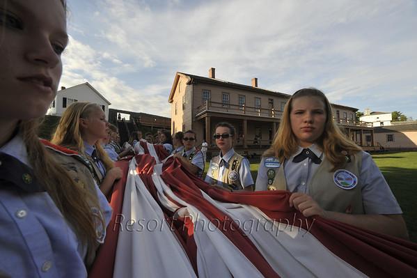 Troop 609 Flag Ceremony
