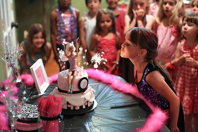 Sierra's 7th Birthday Party 2013