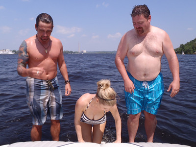 A DAY ON GIRLS 'SAFETY PROOF' BOAT!!