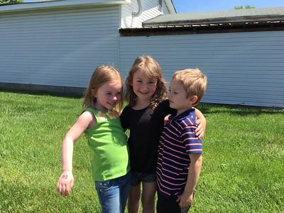 Preschool Graduation and friends