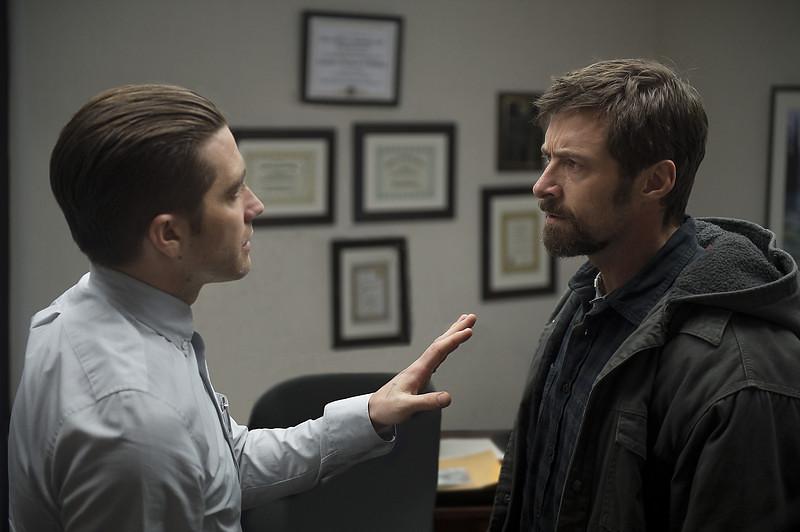 . Jake Gyllenhaal as Detective Loki and Hugh Jackman as Keller Dover in \'Prisoners.\' (Wilson Webb/Warner Bros. Pictures)
