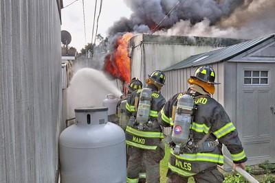 Fatal Trailer Fire - 19 Leetes Rd, Branford, CT - 7/24/19