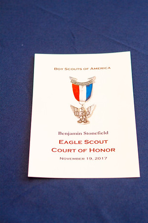 Ben's Eagle Scout Court of Honor