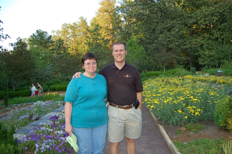 Linda & David at Duke Gardens