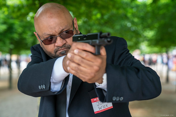 Shuhel Ali as John Wick - MCM London Comic Con - 25th May 2018