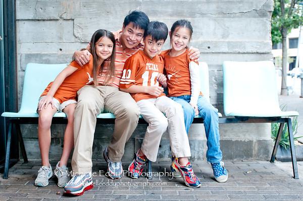 The B Family Portraits