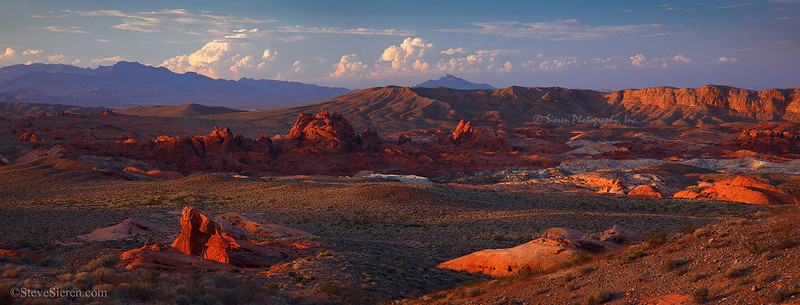 Valley of Fire Panoram Print