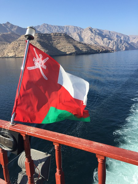 The scenery of Oman - Bridget St. Clair