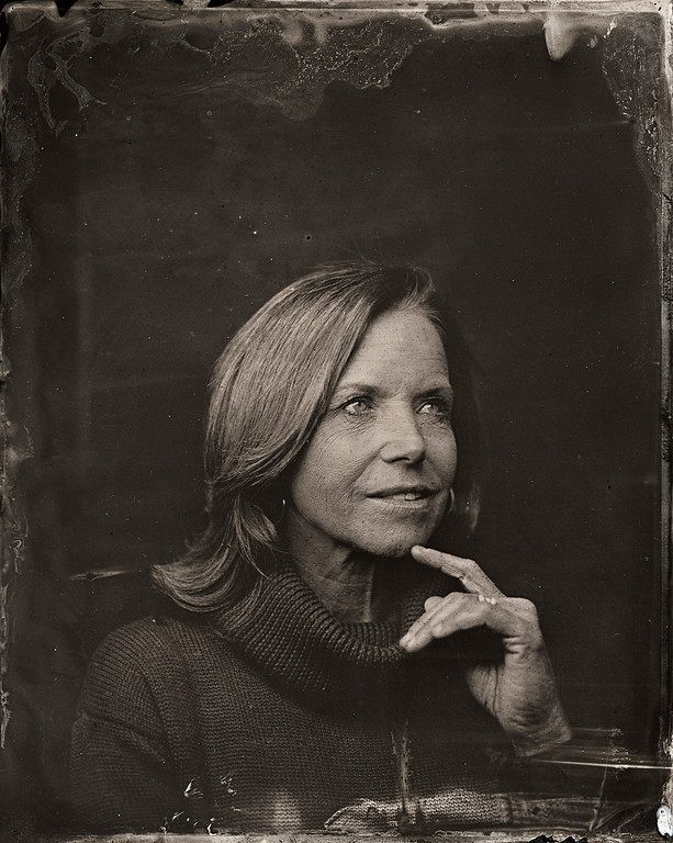 . Katie Couric poses for a tintype (wet collodion) portrait at The Collective and Gibson Lounge Powered by CEG, during the 2014 Sundance Film Festival in Park City, Utah. (Photo by Victoria Will/Invision/AP)