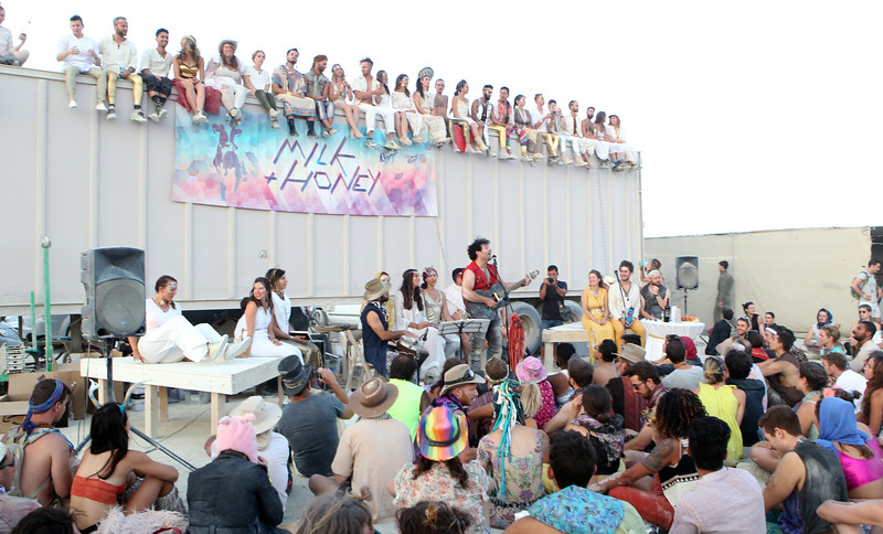 Shabbat at Burning Man 2018