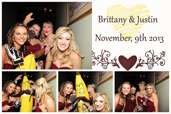 Brittany & Justin Wedding Photo Booth