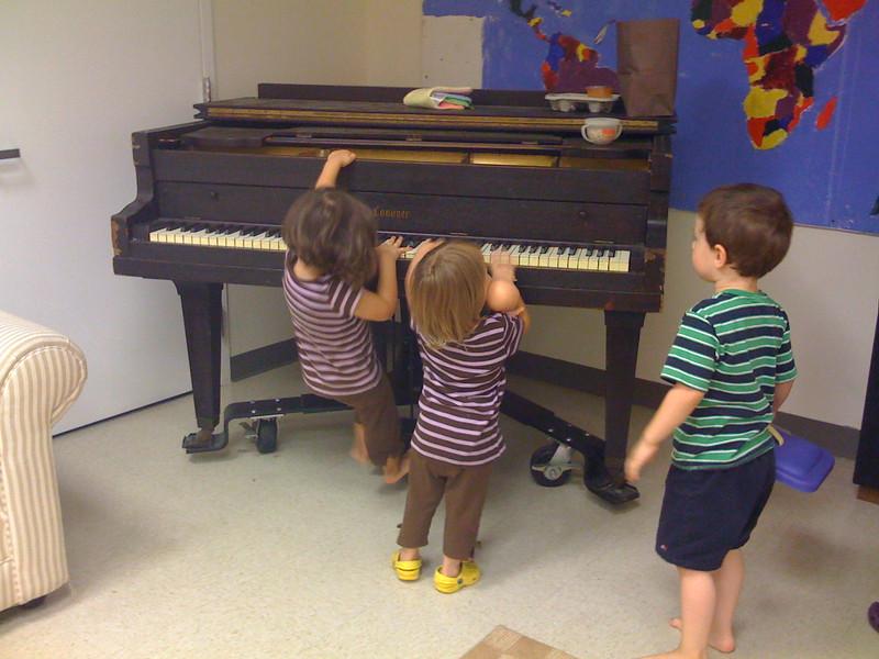 Playgroup piano.