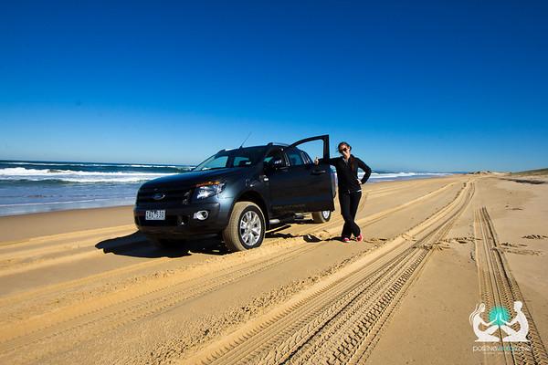 4WDing Stockton Beach NSW