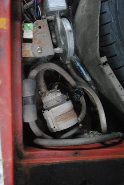Old fuel pump to be scrapped