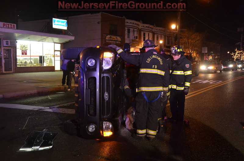 12-25-2011(Camden County)COLLINGSWOOD White Horse Pike-Collings Ave-M.V.A Rescue