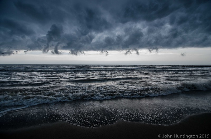 In September, 2012, I chased this storm from Pennsylvania to the ocean, and while it had lost its severe warning by this point, it made a cool boundary as it went out to sea in Asbury Park, NJ. More pics and write up here. http://controlgeek.net/2012/9/9/storm-chasing-in-lancaster-county-pa-and-asbury-park-nj