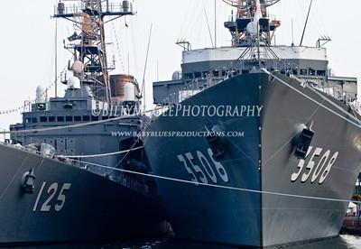 Japanese Training Ships - 27 Jul 2010