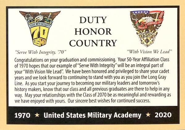 USMA 2020 Graduation Congratulatory Videos