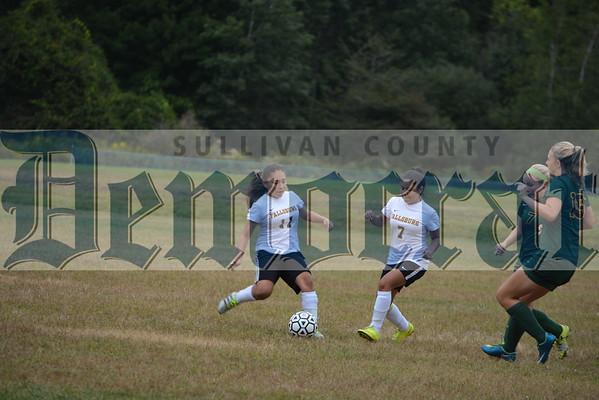 Fallsburg vs Eldred Girls Soccer