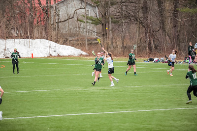 2017-04-19 Oxford Hills Vikings vs. Gould Academy Girls Lacrosse