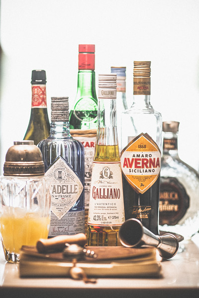 Back Bar Bottles