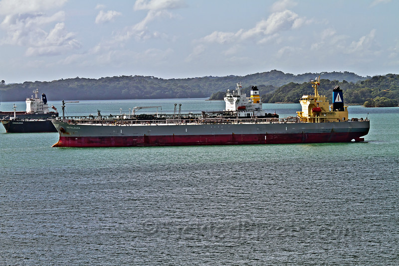 Gatun Lake Ship Wait Area