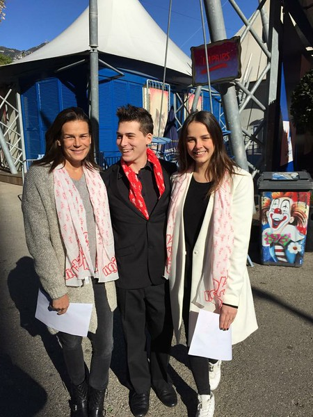 Prinsesse Stéphanie fejrede fødselsdag i cirkus