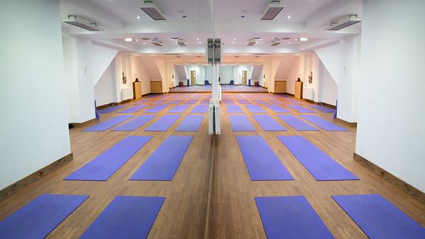 The Yoga Rooms, Studio