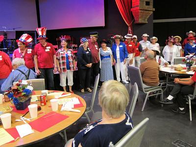 Yankee Doodle Dandy Luncheon - June 26, 2015