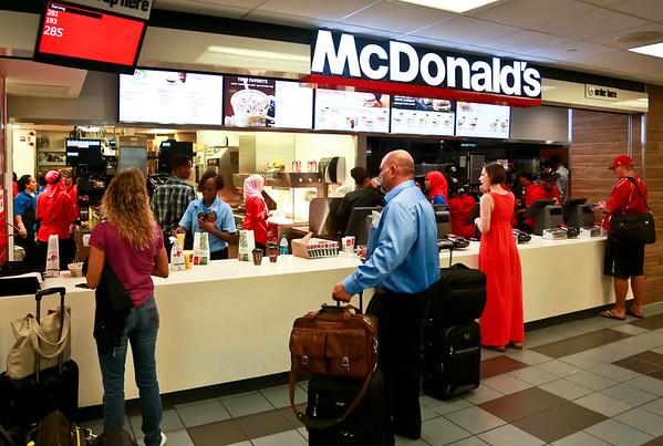 McDonald's, B Gates Center Core