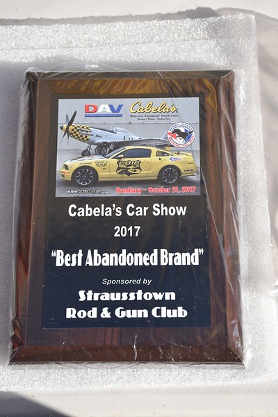 Mustang Car Club Fall Show